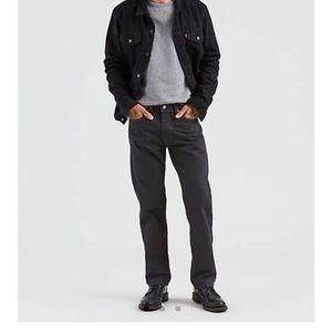 Men's Levi's Authentic 505 Black Jeans 33x29